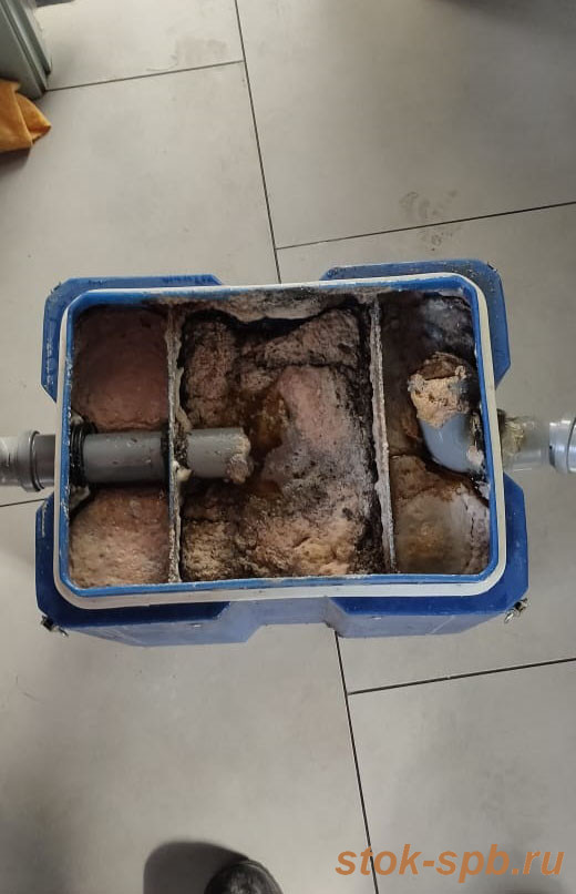 Очистка жироуловителя Термит 1