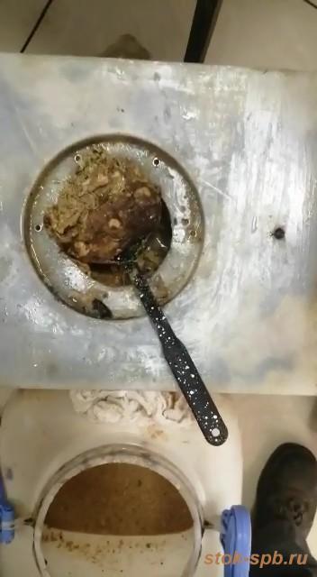 Очистка жироуловителя ЖУК